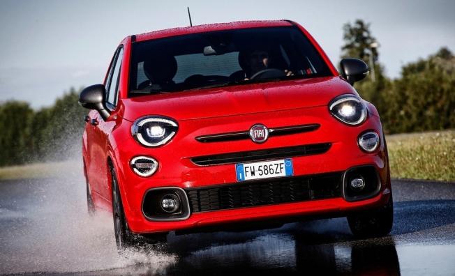 Fiat 500X Sport - frontal
