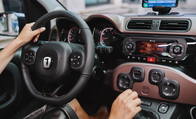 Fiat Panda Trussardi - interior