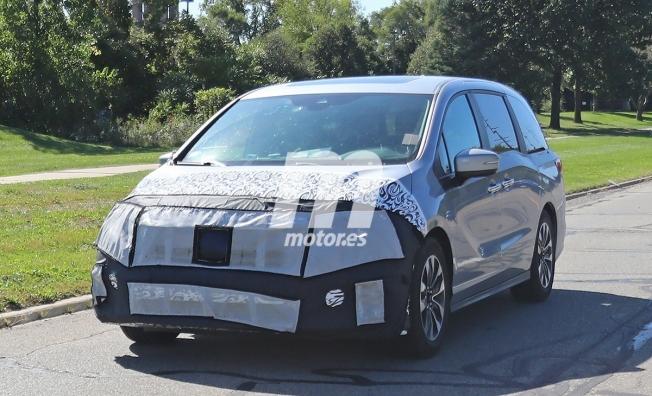 Honda Odyssey 2021 - foto espía