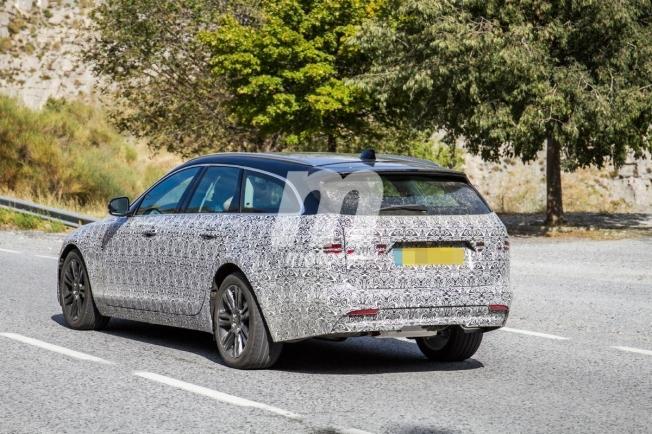 Jaguar XF Sportbrake 2020 - foto espía posterior
