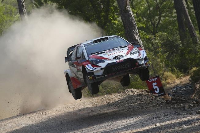 Kris Meeke y Toyota lideran el shakedown del Rally de Turquía