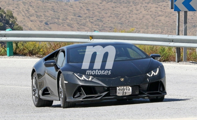 Lamborghini Huracán EVO Performante - foto espía