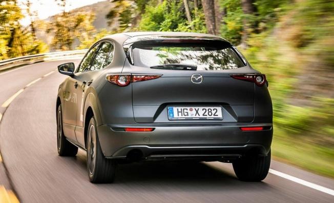 Mazda e-TPV - posterior