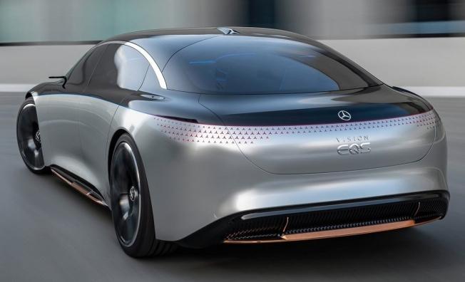 Mercedes Vision EQS - posterior