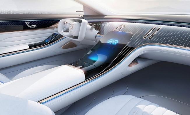 Mercedes Vision EQS - interior