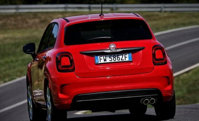 Fiat 500X Sport - posterior