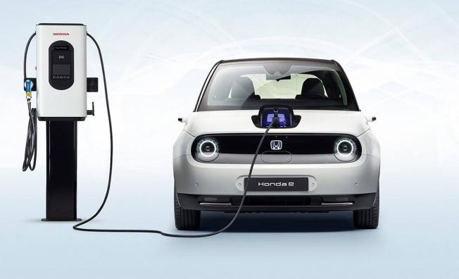 Honda e - frontal