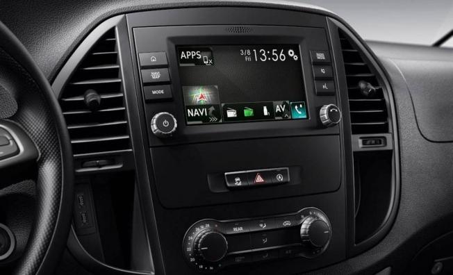 Mercedes eVito - interior