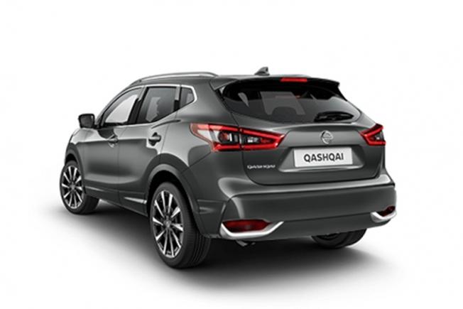 Nissan Qashqai Q-Line - posterior