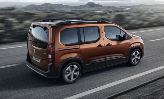 Peugeot Rifter - posterior