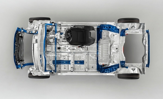 Plataforma GA-B de Toyota