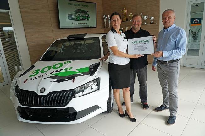 Skoda Motorsport alcanza las 300 unidades vendidas del Fabia R5