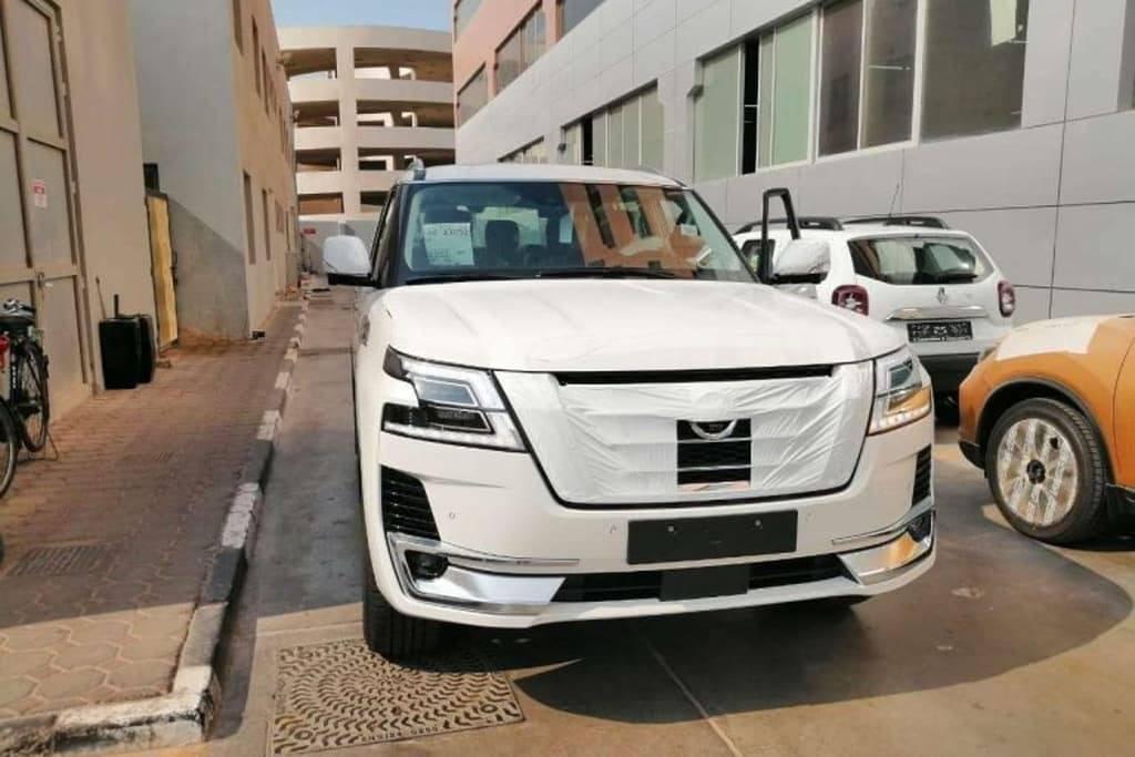 Filtrado al completo el nuevo Nissan Patrol 2020 facelift