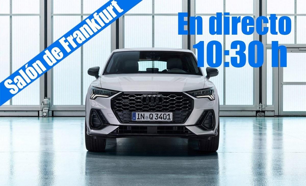 En directo: las novedades de Audi desde Frankfurt 2019