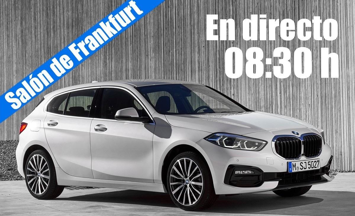 En directo: las novedades de BMW Group desde Frankfurt 2019