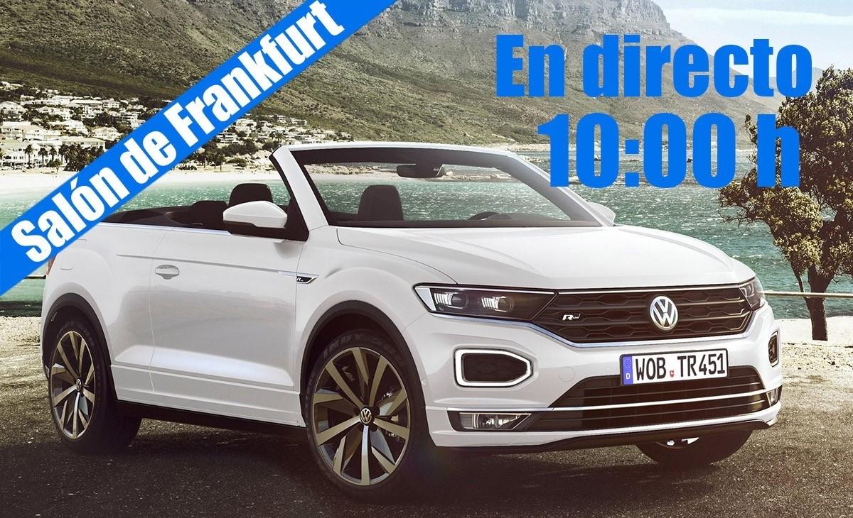 En directo: las novedades de Volkswagen desde Frankfurt 2019