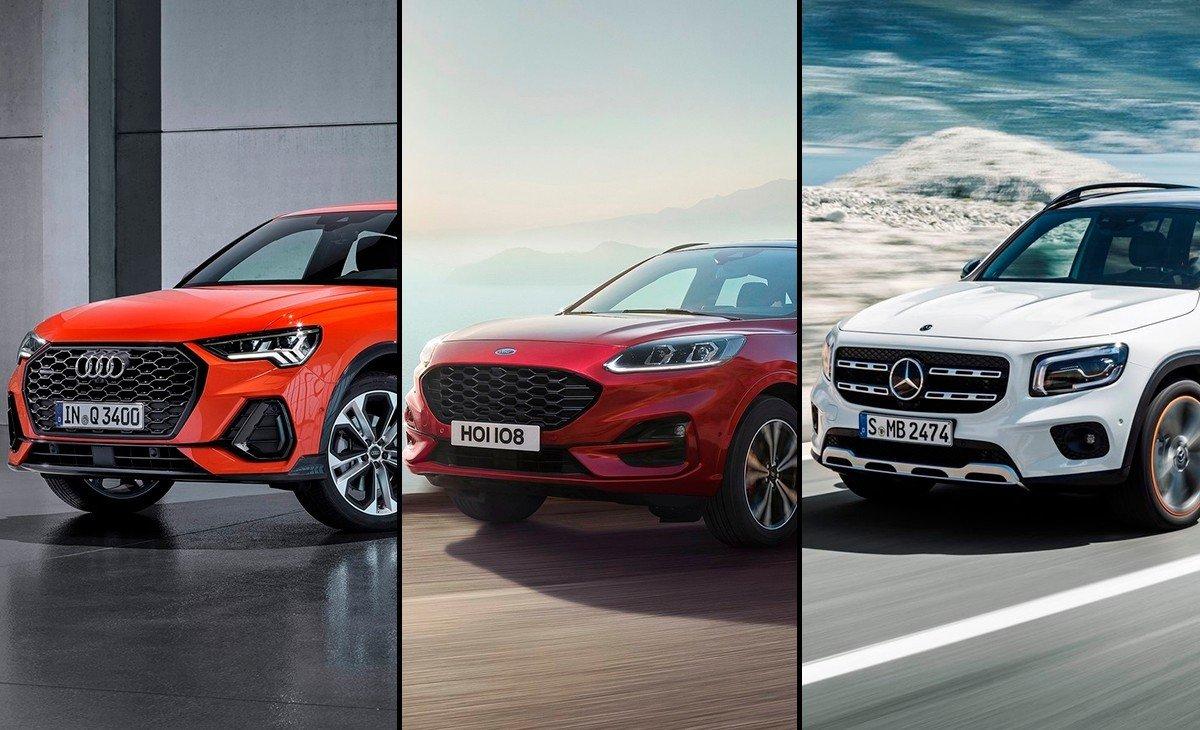 Los nuevos SUV compactos que llegan a Europa: Kuga, Q3 Sportback y GLB