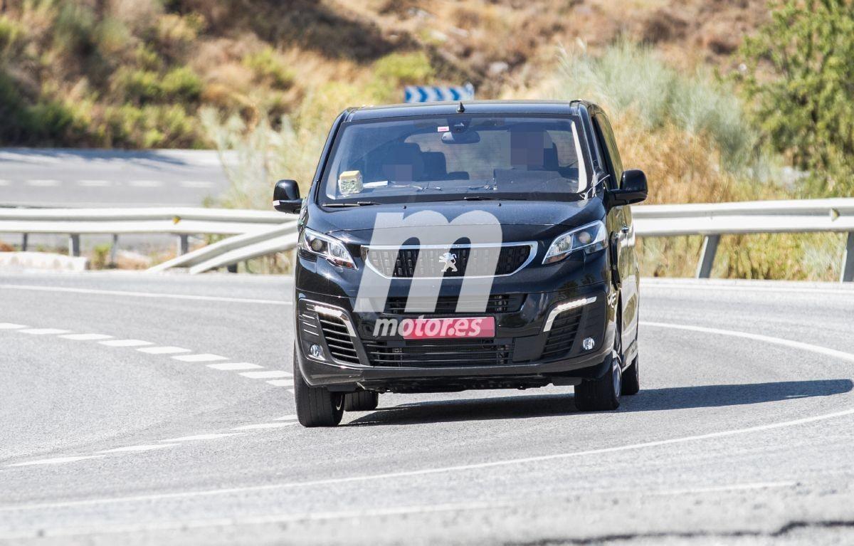 Primeras fotos espía de la Peugeot Traveller Eléctrica, confirmada para 2020