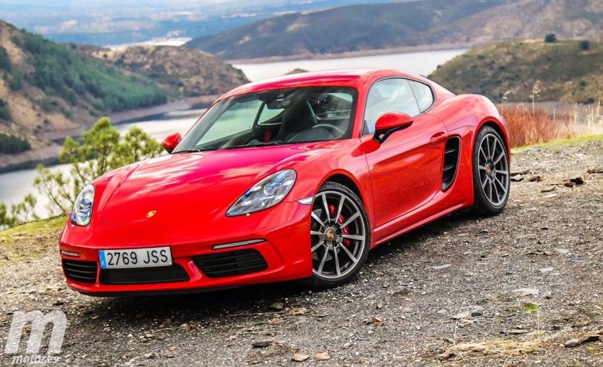 Porsche no descarta convertir el 718 Cayman en un vehículo 100% eléctrico