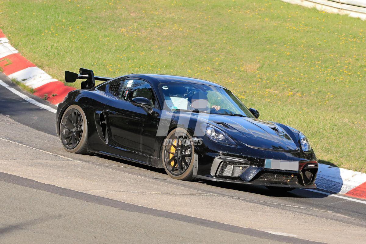 El Porsche 718 Cayman GT4 RS ya se enfrenta a Nürburgring