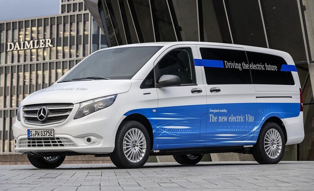 Precios del Mercedes eVito, llega la furgoneta eléctrica