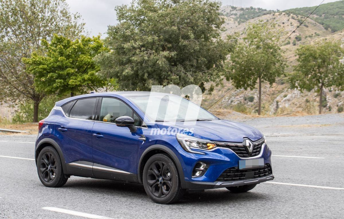 El Renault Captur E-Tech híbrido enchufable se pasea sin camuflaje