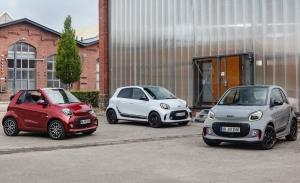 Smart presenta su renovada gama de coches eléctricos, los nuevos ForTwo y ForFour