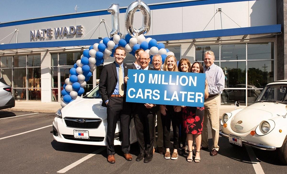 Subaru alcanza los 10 millones de unidades vendidas en Estados Unidos