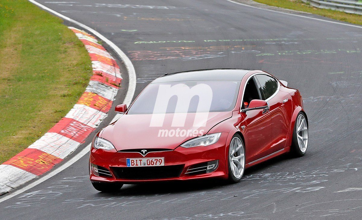 "El Tesla Model S P100D ""Plaid"" a fondo en Nürburgring [vídeo]"