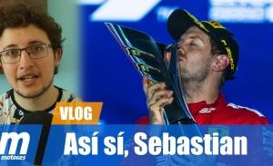 [Vídeo] Así sí, Sebastian Vettel
