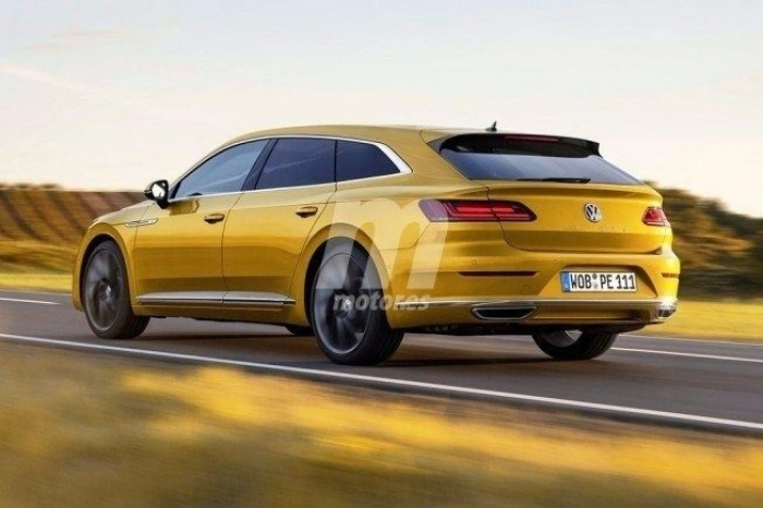 Volkswagen Arteon /Shooting Brake Facelift (2020) 3