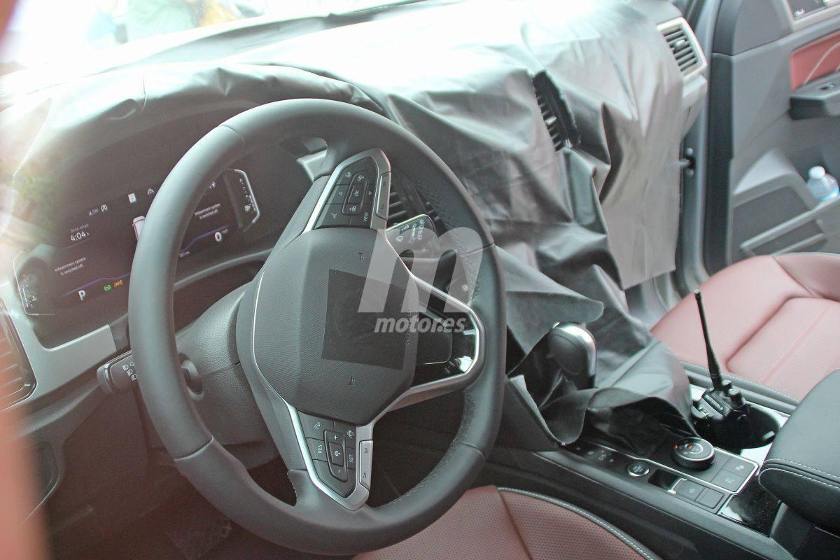 El interior del nuevo Volkswagen Atlas Cross Sport con todo detalle