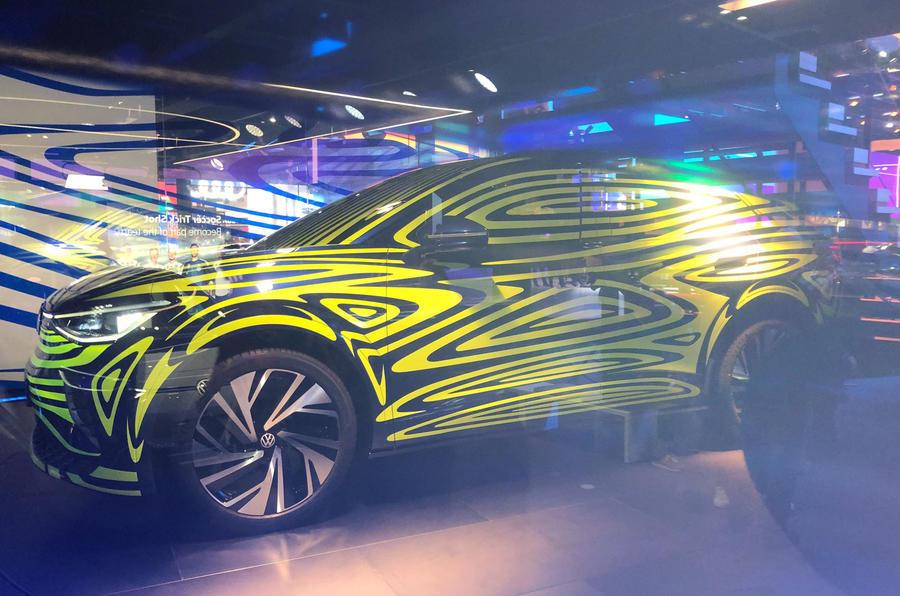 Volkswagen ID.4. Anticipo del nuevo crossover eléctrico en el Salón de Frankfurt 2019