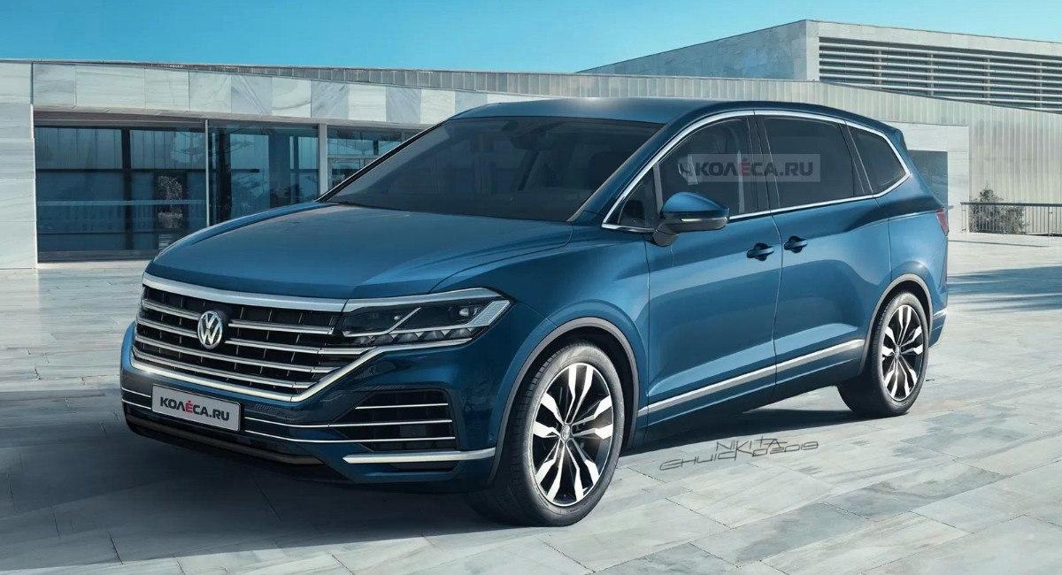 Este es el posible aspecto del futuro Volkswagen Viloran