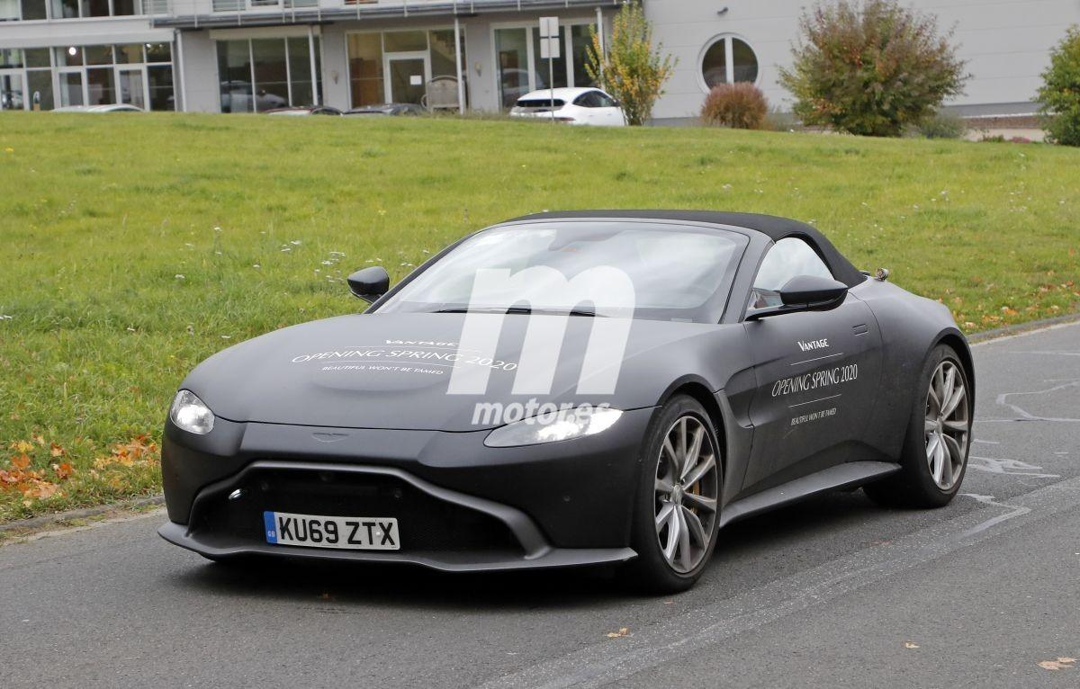 El nuevo Aston Martin Vantage Roadster exhibe su potencia en Nürburgring