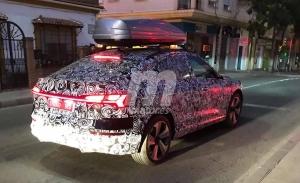 El nuevo Audi e-tron Sportback, un SUV eléctrico, vuelve a dejarse ver por España