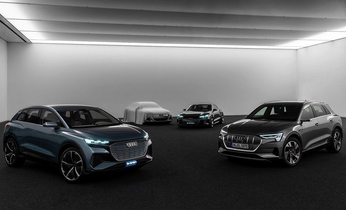 Audi lanzará más de 30 vehículos electrificados de cara a 2025