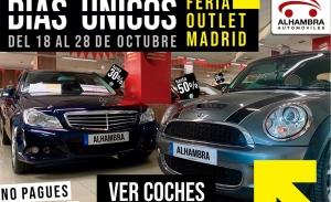 Automóviles Alhambra presenta los «Días Únicos» con descuentos de hasta el 50%