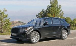 Nuevas imágenes de las pruebas del facelift del Bentley Bentayga