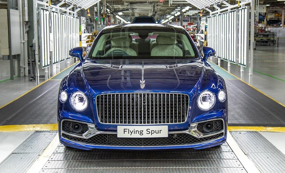 El nuevo Bentley Flying Spur 2020 ya está siendo producido en Crewe