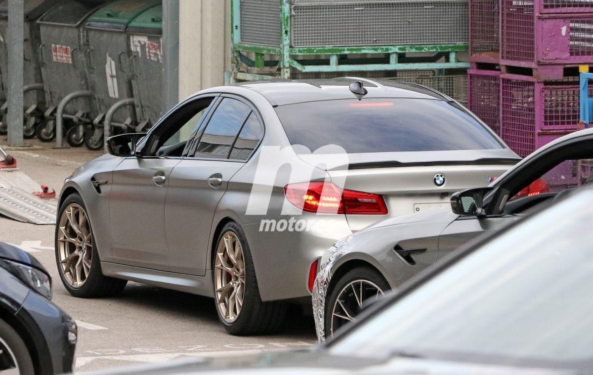 Al descubierto un prototipo del nuevo BMW M5 CS en las instalaciones de Nürburgring