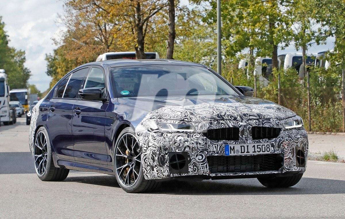 Nuevas fotos espías del BMW M5 2021 nos muestran jugosas novedades