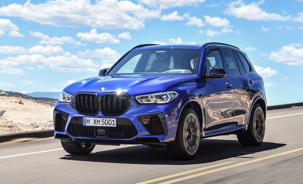 BMW X5 M 2020, traje deportivo para el SUV alemán