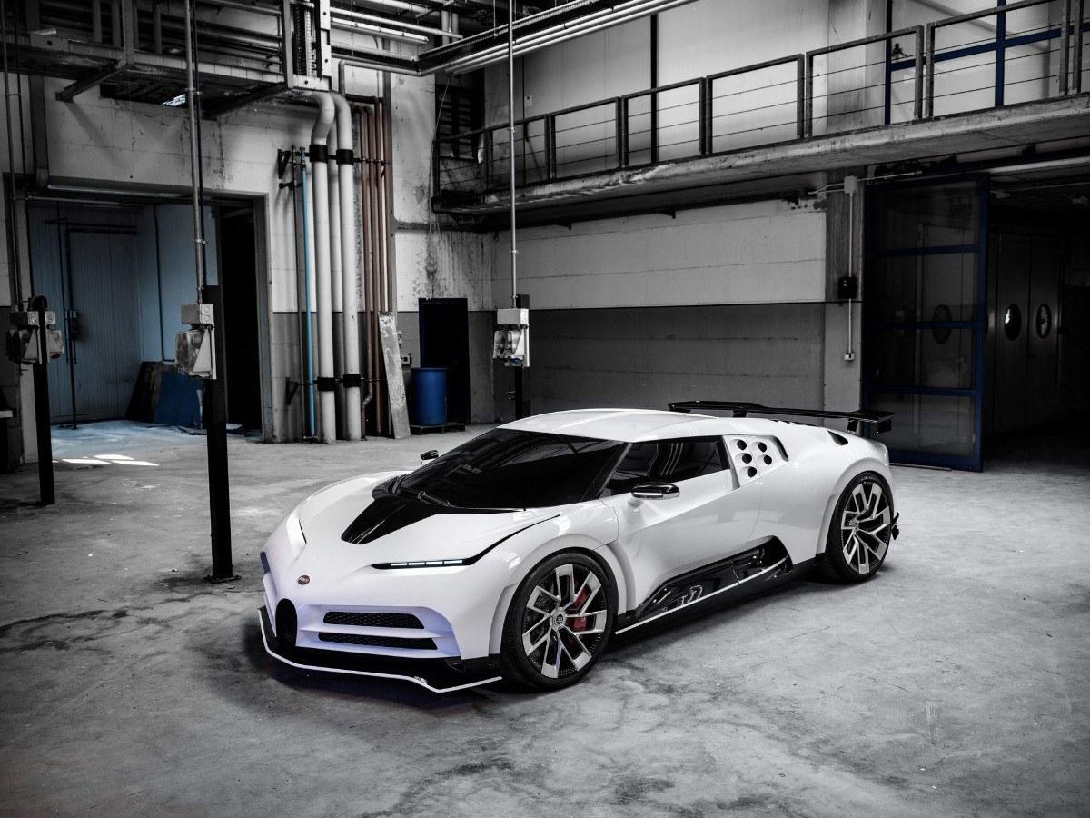 El nuevo Bugatti Centodieci es realmente una maqueta con mecánica eléctrica