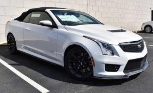 Un coche único: a la venta un Cadillac ATS-V Cabrio, un deportivo descapotable