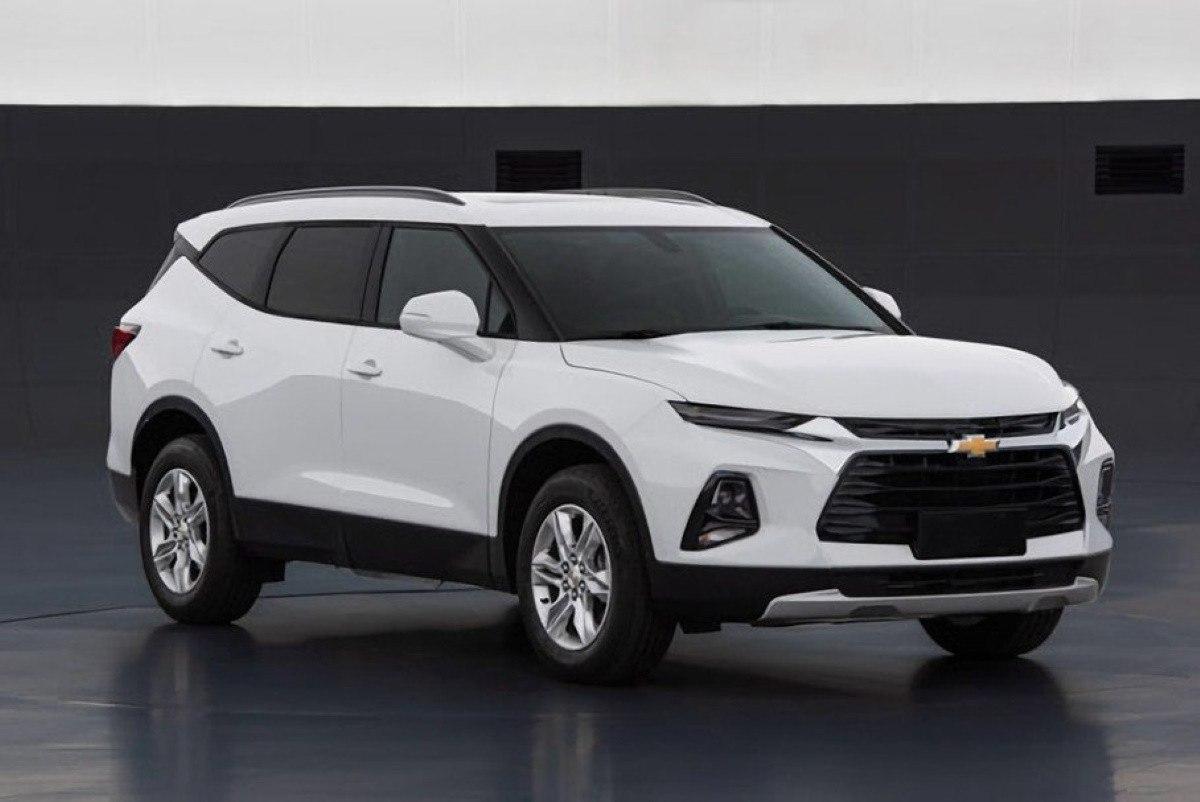 El nuevo Chevrolet Blazer XL queda al descubierto en estas primeras imágenes filtradas