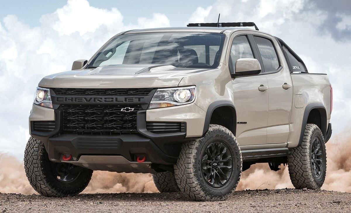 Chevrolet Colorado ZR2 2020, nueva imagen y novedades de equipamiento