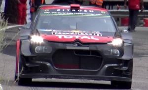 El Citroën C3 WRC luce una aerodinámica radical en los test del Rally RACC