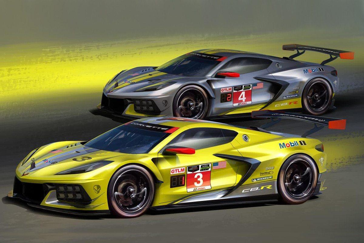 Se confirman más detalles técnicos del Corvette C8.R GTE