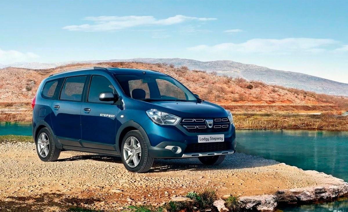 El Dacia Lodgy, el monovolumen asequible más popular, estrena nuevas versiones